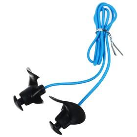 Беруши для плавания с верёвочкой, силиконовые, цвета МИКС
