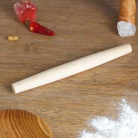 Скалка бочонок, берёза, 35×3,5 см
