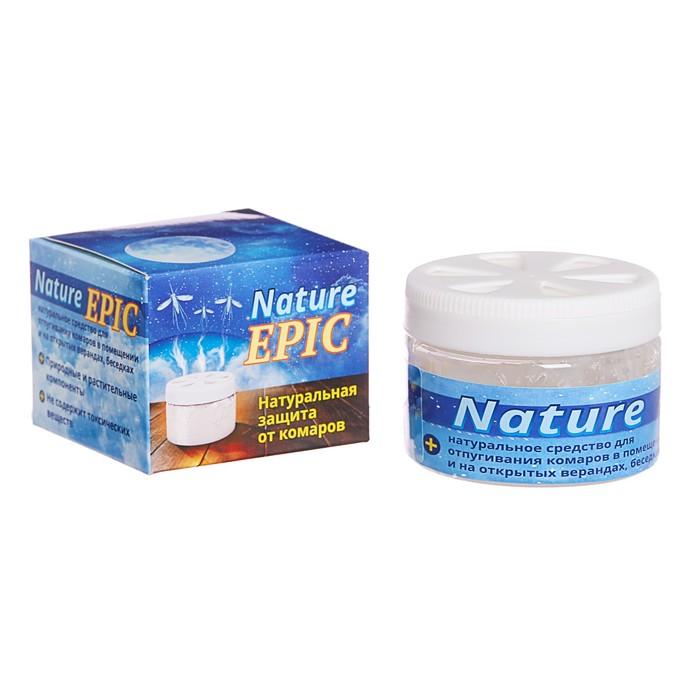 Гель-репеллент от комаров Nature Epic, на эфирных маслах, 50 мл - фото 4664397