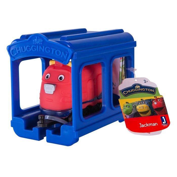 Игровой набор «Паровозик Джекман с гаражом»