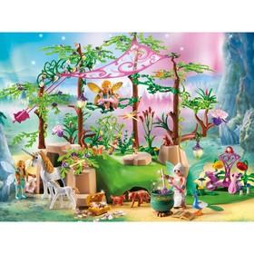 Конструктор Playmobil Феи «Лес волшебной феи»