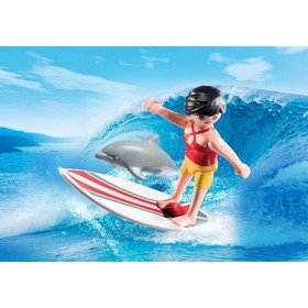 Конструктор Playmobil «Экстра набор: сёрфингист с доской»