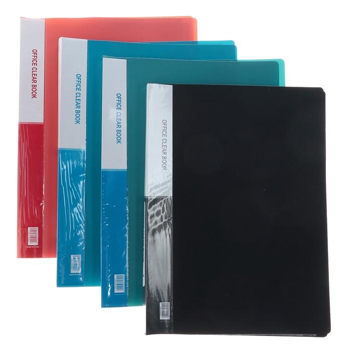Папка, формат А4, 20 файлов, МИКС - фото 415604354