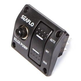 Панель с трехпозиционным переключателем SeaFlo SFSP-015-02, 12V/24V