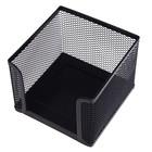 Подставка для бумажного блока, большая, черная сетка