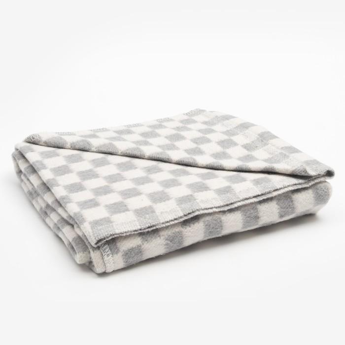 Одеяло байковое размер 100х140 см, цвет микс для универс., хл80%, ПАН 20%, 420гр/м - фото 3655792