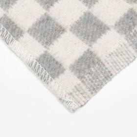 Одеяло байковое размер 100х140 см, цвет микс для универс., хл80%, ПАН 20%, 420гр/м - фото 3655794