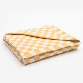 Одеяло байковое размер 100х140 см, цвет микс для универс., хл80%, ПАН 20%, 420гр/м - фото 3655795