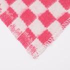 Одеяло байковое размер 90х140 см, МИКС для дев., хл80%, ПАН 20%, 420гр/м - фото 105555063