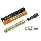 """Шаблон для заточки цепи Rezer RFG 5.5, d=5.5 мм, для звена 1.3-.16 мм, для шага 3/8"""" profi"""