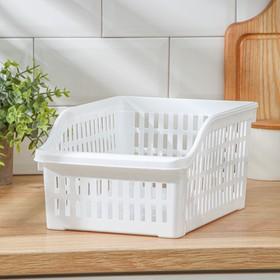 Корзина для продуктов в холодильник, цвет МИКС