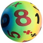 """Мяч детский """"Цифры"""", d=22 см, 70 г"""