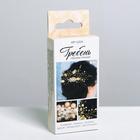 Свадебный гребешок «Нежное золото», набор для создания, 5 × 10 × 2.5 см - фото 699042