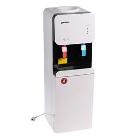 Кулер для воды AquaWork 105 LD, нагрев и охлаждение, 500 Вт, белый