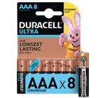 Батарейка алкалиновая Duracell Ultra Power, ААА, LR03-8BL, 1.5В, 8 шт.