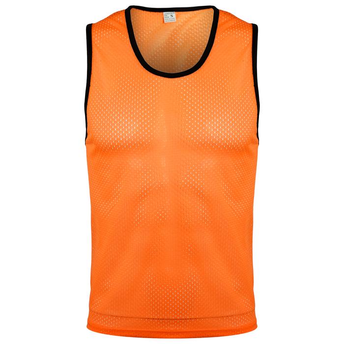 Манишка футбольная размер L, цвет оранжевый