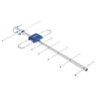 Антенна LUMAX DA2213A, уличная, активная, 25 дБ, 5В, DVB-T2, цифровая