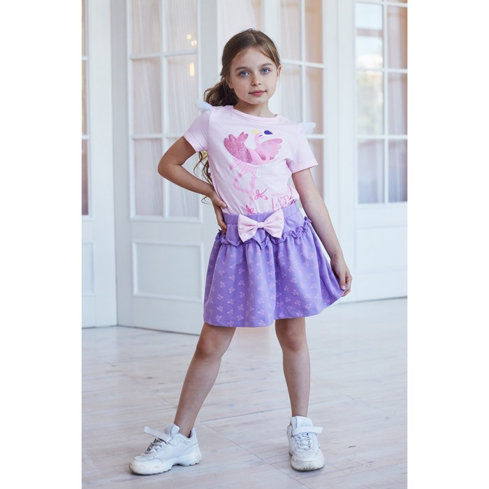"Юбка KAFTAN ""Ballerina"" р.30 (98-104), фиолетовый - фото 76126040"