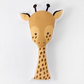Подушка Крошка Я «Жираф» 50х20 см