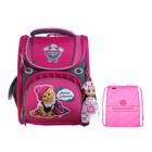 Ранец Стандарт раскладной Across 195 35*28*15 +мешок дев, розовый ACR19-195-10