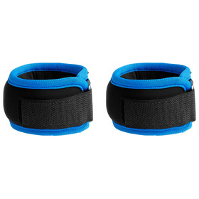 Утяжелители на запястье 2х100 гр (вес пары 200 гр), цвет синий Ош