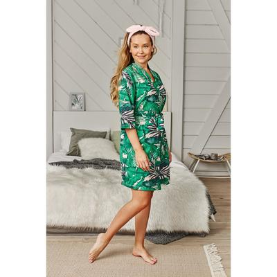 "Gown KAFTAN ""Tropic"", green, R. 40-42"