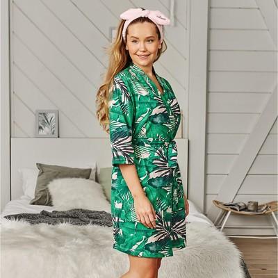 "Gown KAFTAN ""Tropic"", green, p. 44-46"