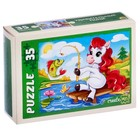 Пазл «Удивительные пони», 35 элементов