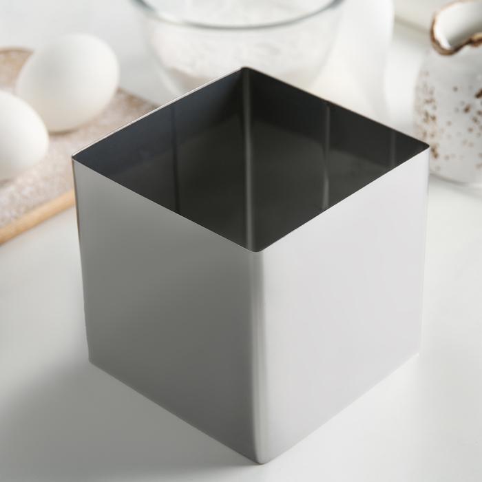 Форма для выкладки и выпечки h=10 см d=10х10 см