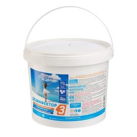 Медленный стабилизированный хлор Aqualeon комплексный таб. 20 г. 4 кг