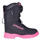 Ботинки Jethwear Driver BOA, размер 36, чёрный, розовый