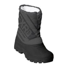 Ботинки детские FXR Octane, размер 29, чёрный, серый