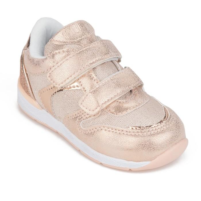 Полуботинки кроссовые для девочки арт. 208663 цвет розовый, размер 24