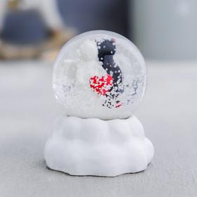 Снежный шар «Ангел&Дьявол», полистоун