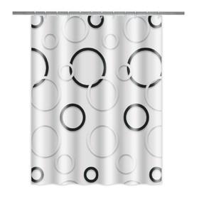 Шторка для ванной 180 х 180 см, полиэстер