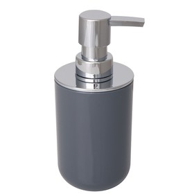 Дозатор для жидкого мыла Alba Grey, пластик