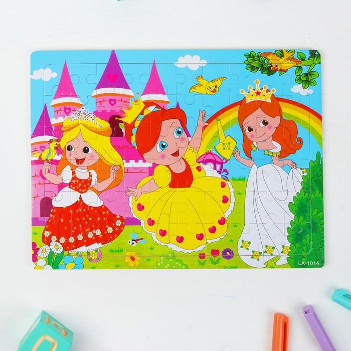 """Пазл большой  """"Маленькие принцессы"""""""