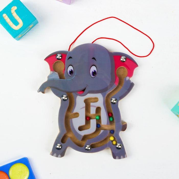 Лабиринт логический «Слоник»
