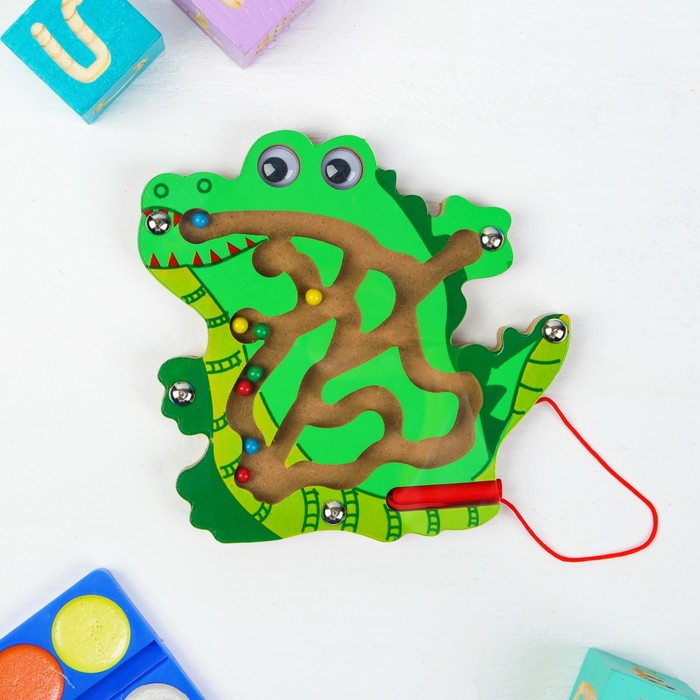 Лабиринт логический «Крокодил»