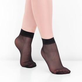 Носки женские, 30 ден, цвет чёрный, размер 23-25 (р-р обуви 36-40) Ош