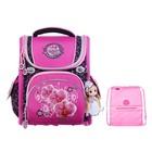 Ранец Стандарт раскладной Across 195 35*28*15 +мешок дев, розовый ACR19-195-06