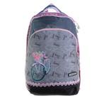 Рюкзак школьный эргоном.спинка Merlin GL3 38*28*18 дев, серый ACR19-GL3-02