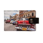 Визитница на кнопке «Куба»