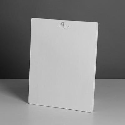 Гипсовая фигура. Орнамент «Ветка клевера», 32.5 х 41 х 6.5 см