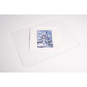 Планшет для пленэра, оргстекло, 25 x 35 см, под А4, толщина 3 мм