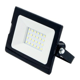 Светодиодный прожектор GLANZEN SLIM, 20 Вт, 6000-6500 К, 1600Лм, SMD, IP65, FAD-0002-20-SL Ош