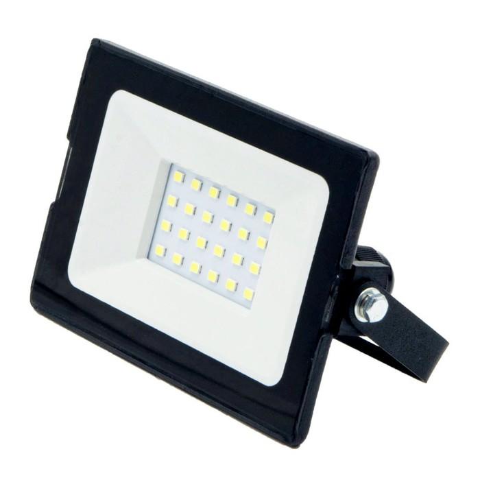 Светодиодный прожектор GLANZEN SLIM, 20 Вт, 6000-6500 К, 1600Лм, SMD, IP65, FAD-0002-20-SL