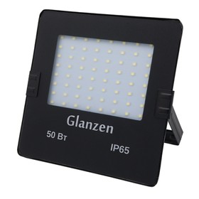 Светодиодный прожектор GLANZEN SLIM, 50 Вт, 6000-6500 К, 3500 Лм, SMD, IP65, FAD-0025-50