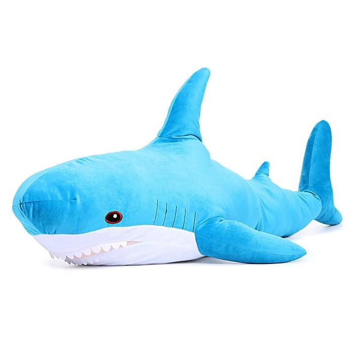 Мягкая игрушка «Акула» 98 см, МИКС - фото 1163630