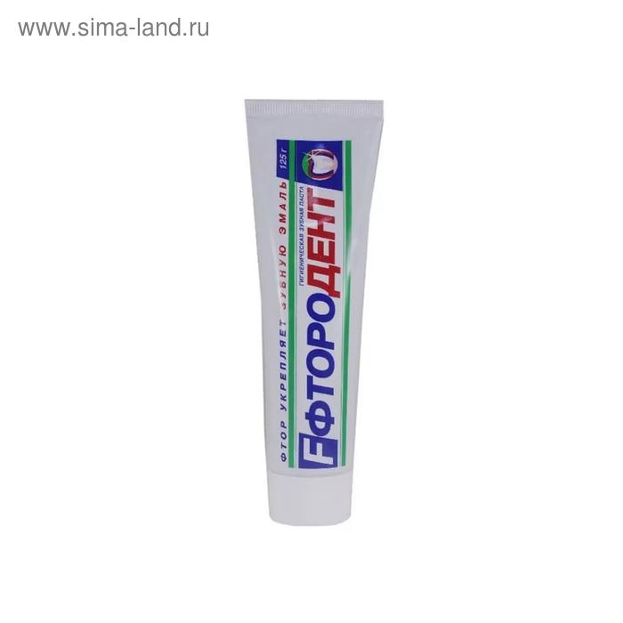 Зубная паста Фтородент, 125 мл